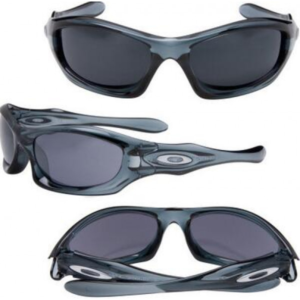 44093ed4ccd Fake Oakley monster dog Cheap asian fit Crystal Blue Grey