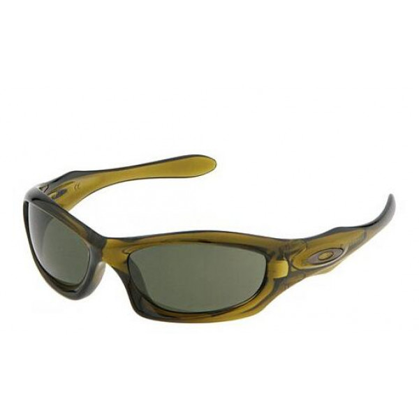 4d7d6d62cce Fake Oakley Monster Dog discontinued Sunglasses Olive Gray