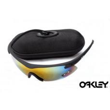 oakley m frame sunglasses black frame fire iridium lens - M Frame Oakleys