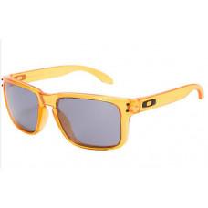 5d3af9187f Fake Oakley Holbrook Crystal Orange mirror Grey Le.